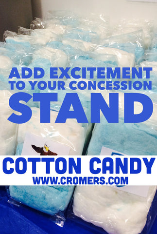 Cotton Candy for Concession Stands