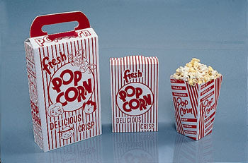 Popcorn Boxes 2E, (5OO count)