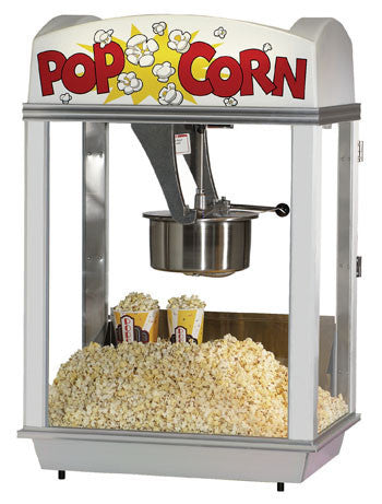 Pop a Lot Popper - 8 oz. 2007, Popcorn Equipment, Cromers Pnuts, LLC - Cromers Pnuts, LLC