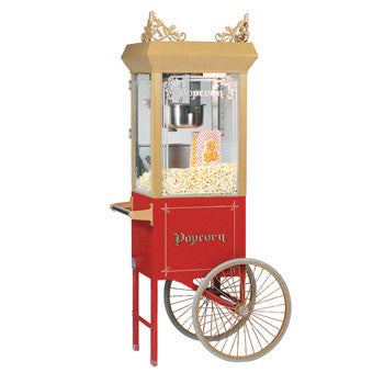 2 Wheel Popcorn Popper Cart 2016, Popcorn Equipment, Cromers Pnuts, LLC - Cromers Pnuts, LLC
