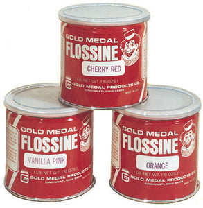 Blue Raspberry Flossine, 1 lb, Cotton Candy Supplies, Cromers Pnuts, LLC - Cromers Pnuts, LLC