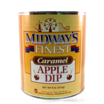 Midways Finest Caramel Apple Dip #10 Can, Candy Apple Supplies, Cromers Pnuts, LLC - Cromers Pnuts, LLC