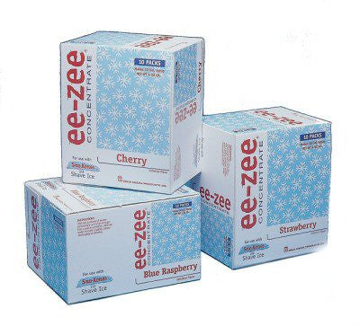 Cherry - Ee-zee Concentrate/Ctn 10 - 15.75, Snow Cone Supplies, Cromers Pnuts, LLC - Cromers Pnuts, LLC