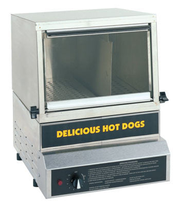 Hot Dog Steamer with Glass Front Door - 8150