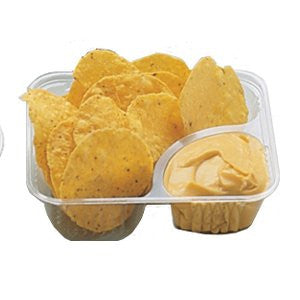 Nacho Tray Clear Compartments., 125, Snack Bar Supplies, Cromers Pnuts, LLC - Cromers Pnuts, LLC