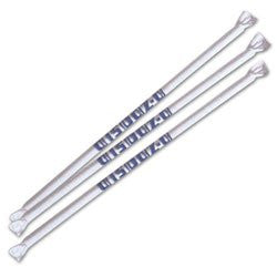 "Plastic Straws Wrapped 7-3/4"", 500"