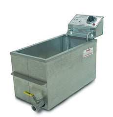 120 Volt Fryer With Drain - 8047D, Snack Bar Equipment, Cromers Pnuts, LLC - Cromers Pnuts, LLC