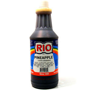 RIO Pineapple Snow Cone Syrup, 32 oz. - $16.95, Snow Cone Supplies, Cromers Pnuts, LLC - Cromers Pnuts, LLC