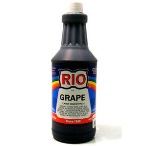 RIO Grape Snow Cone Syrup, 32 oz. - $16.95, Snow Cone Supplies, Cromers Pnuts, LLC - Cromers Pnuts, LLC