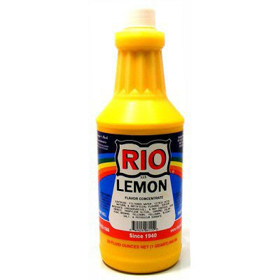 RIO Lemon Snow Cone Syrup, 32 oz. - $17.95