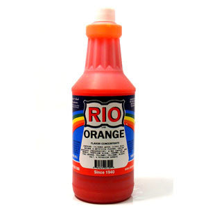 RIO Orange Snow Cone Syrup, 32 oz. - $16.95, Snow Cone Supplies, Cromers Pnuts, LLC - Cromers Pnuts, LLC