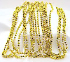 Gold Beads Metallic Bulk