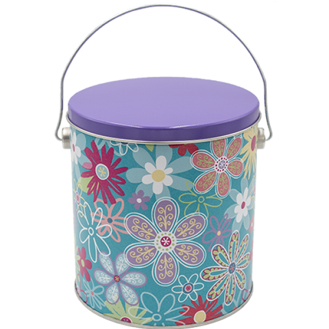 1 Gallon - Flower Blossom Tin