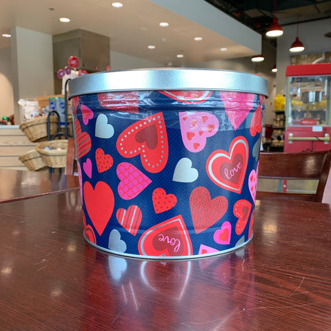 2 Gallon - Happy Heart Tin