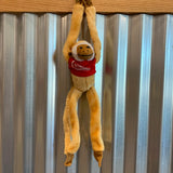 Hanging Cromer's Logo Stuffed Monkey
