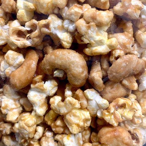 Cashew Double Coated Caramel Popcorn