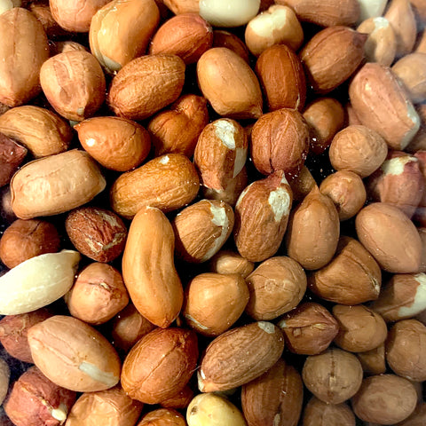 Raw Spanish Peanuts