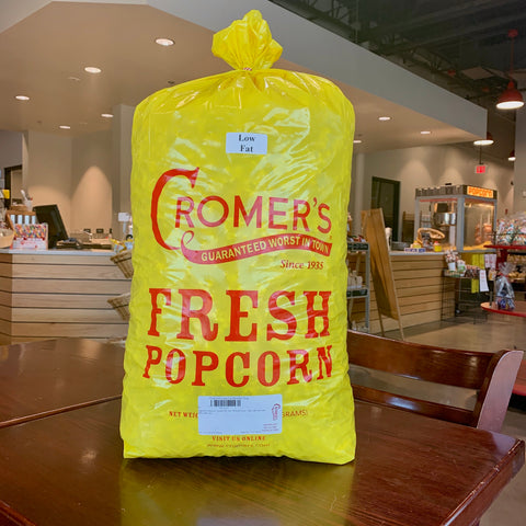 Low Fat Popcorn in a Bushel Bag