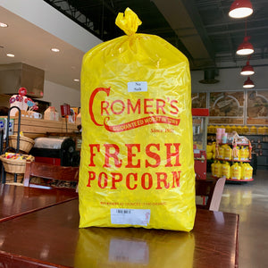 No Salt Popcorn in a Bushel Bag
