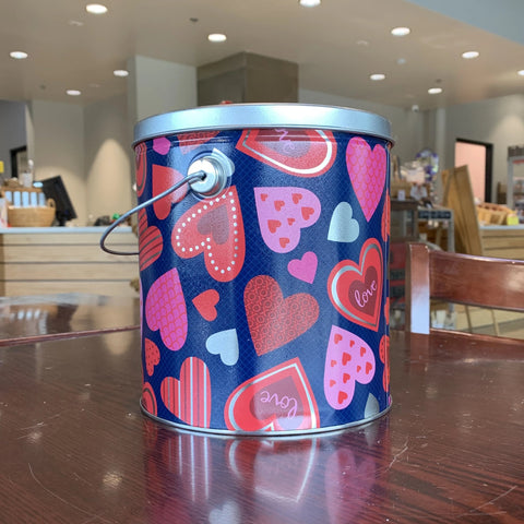1 Gallon - Happy Heart Tin