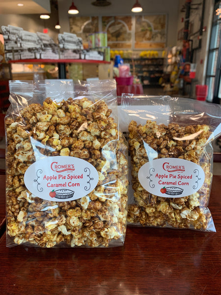 Apple Pie Spiced Caramel Corn