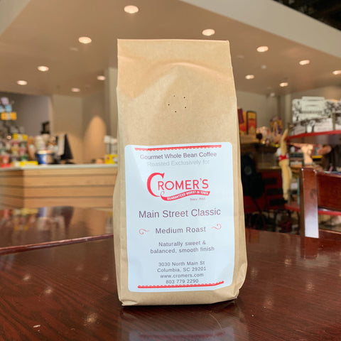 Main Street Classic - 12oz Whole Bean Coffee