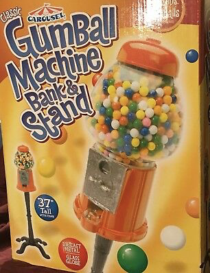 GumBall Machine Bank & Stand