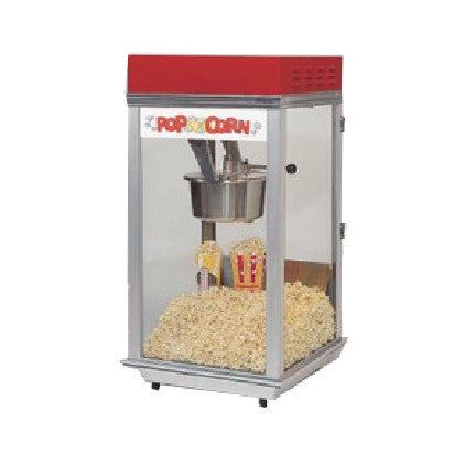 Bronco Popper with Red Top 2152, Popcorn Equipment, Cromers Pnuts, LLC - Cromers Pnuts, LLC