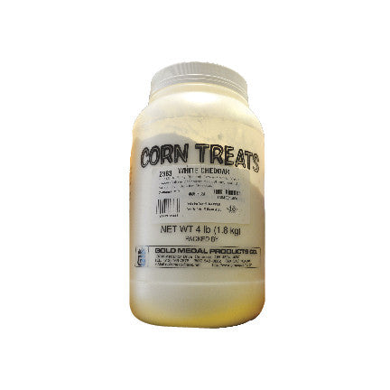 Shake on White Cheddar Cheese 4 lb., Popcorn Supplies, Cromers Pnuts, LLC - Cromers Pnuts, LLC