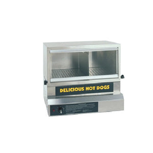 Large Hot Dog Steamer With Glass Front - 8151 - $689.00, Hot Dog Equipment, Cromers Pnuts, LLC - Cromers Pnuts, LLC