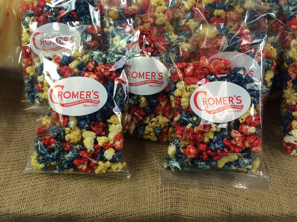4th of July: Patriotic Corn, Seasonal Popcorn, Cromers Pnuts, LLC - Cromers Pnuts, LLC