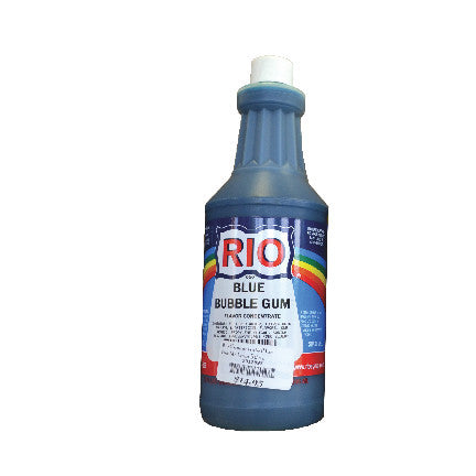 RIO Blue Bubble Gum Snow Cone Syrup, 32 oz. - $16.95, Snow Cone Supplies, Cromers Pnuts, LLC - Cromers Pnuts, LLC