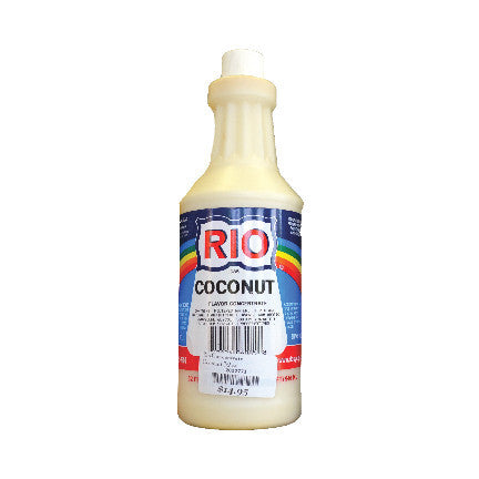 RIO Coconut Snow Cone Syrup, 32 oz. - $16.95, Snow Cone Supplies, Cromers Pnuts, LLC - Cromers Pnuts, LLC