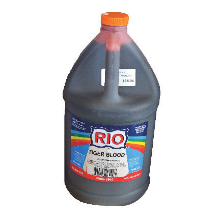 RIO Tiger Blood Snow Cone Syrup, 32 oz. $16.95, Snow Cone Supplies, Cromers Pnuts, LLC - Cromers Pnuts, LLC