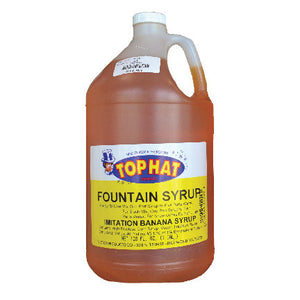 Top Hat Snow Cone Syrup, 1 gal.