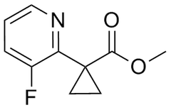 Methyl 1-(3-fluoropyridin-2-yl)cyclopropanecarboxylate