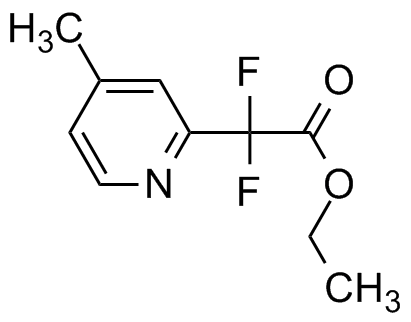 Ethyl difluoro(4-methylpyridin-2-yl)acetate