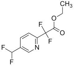 Ethyl [5-(difluoromethyl)pyridin-2-yl](difluoro)acetate