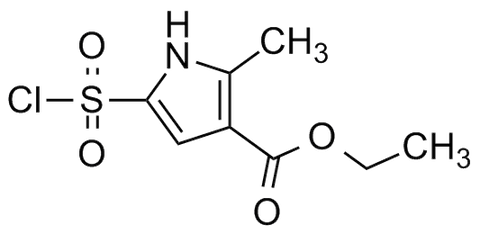 Ethyl 5-(chlorosulfonyl)-2-methyl-1H-pyrrole-3-carboxylate