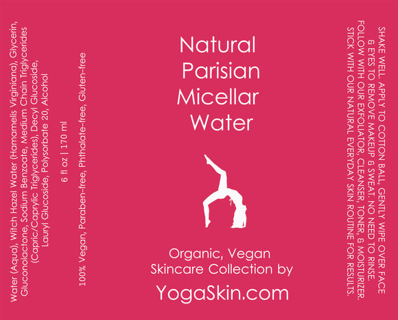 Natural Parisian Micellar Water