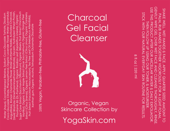 Charcoal Gel Facial Cleanser