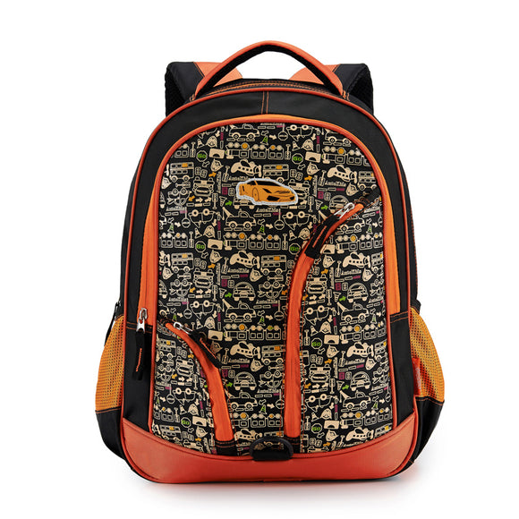 Car Design kid backpack