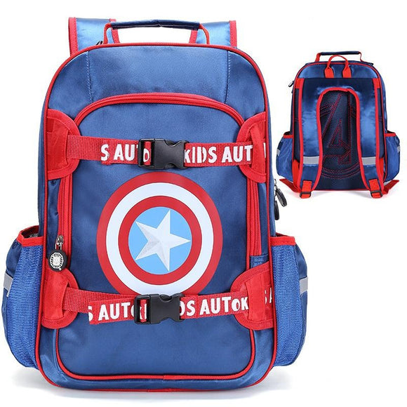 Cartoon schoolbag for primary school students