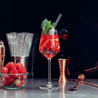 Glass Straws for strawberry cocktails cat engraving quotes funny gifts for 30 year olds