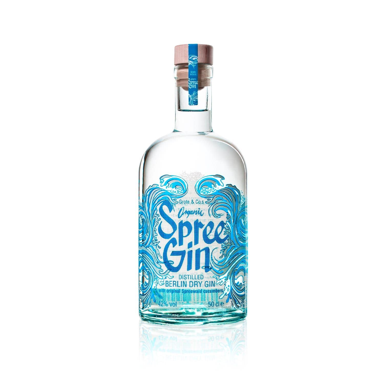 Spree Gin - Berlin Bio Dry Gin 50cl