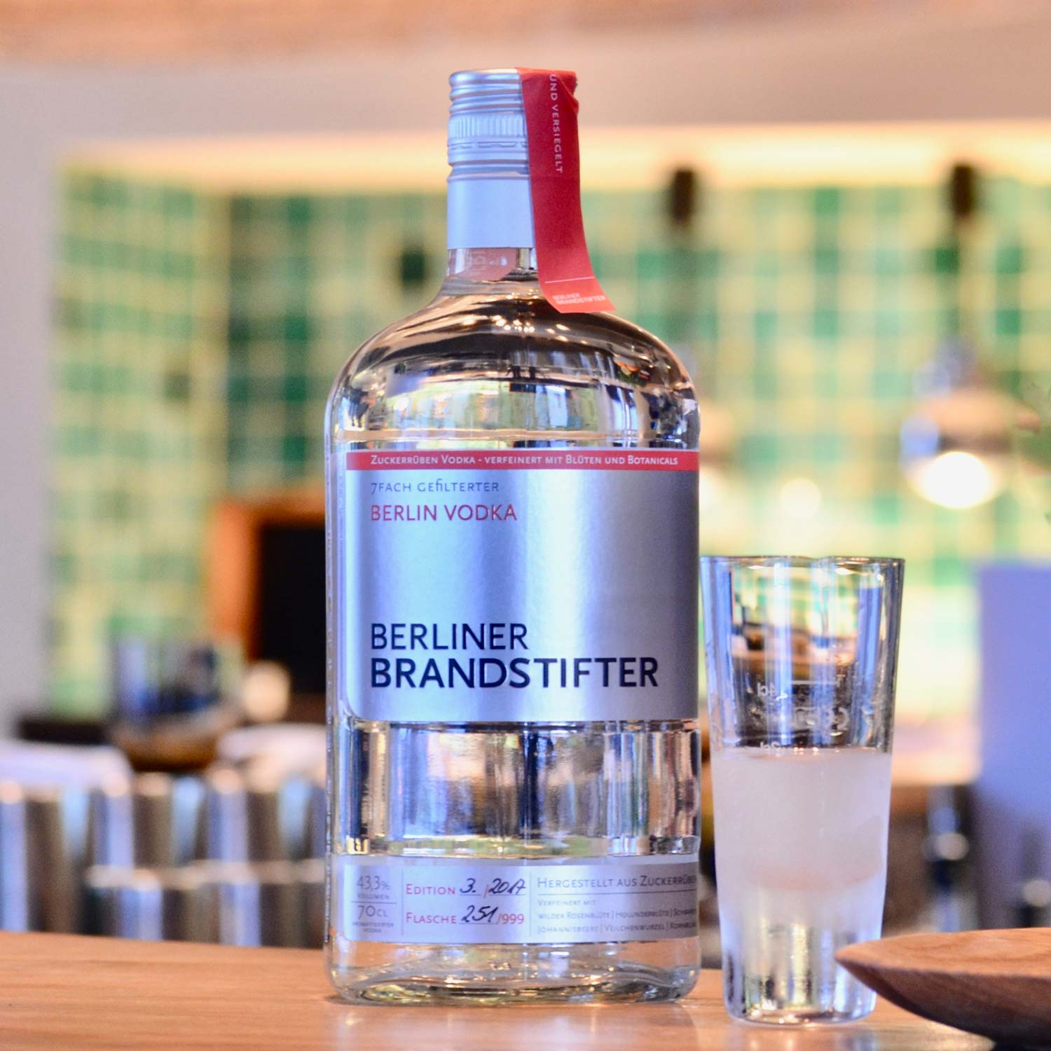 Berliner Brandstifter Berlin Vodka 0,7l (43,3%)