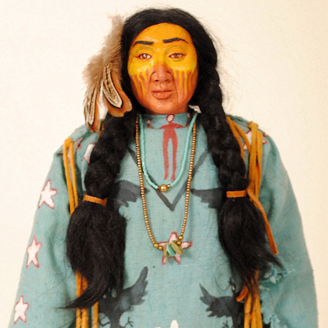 Indian Doll by Mohawk Artist, Cathy Crandall ACC100