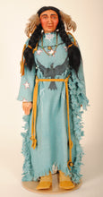 Load image into Gallery viewer, Indian Woman Doll by Mohawk Artist, Cathy Crandall