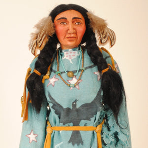 Indian Woman Doll by Mohawk Artist, Cathy Crandall