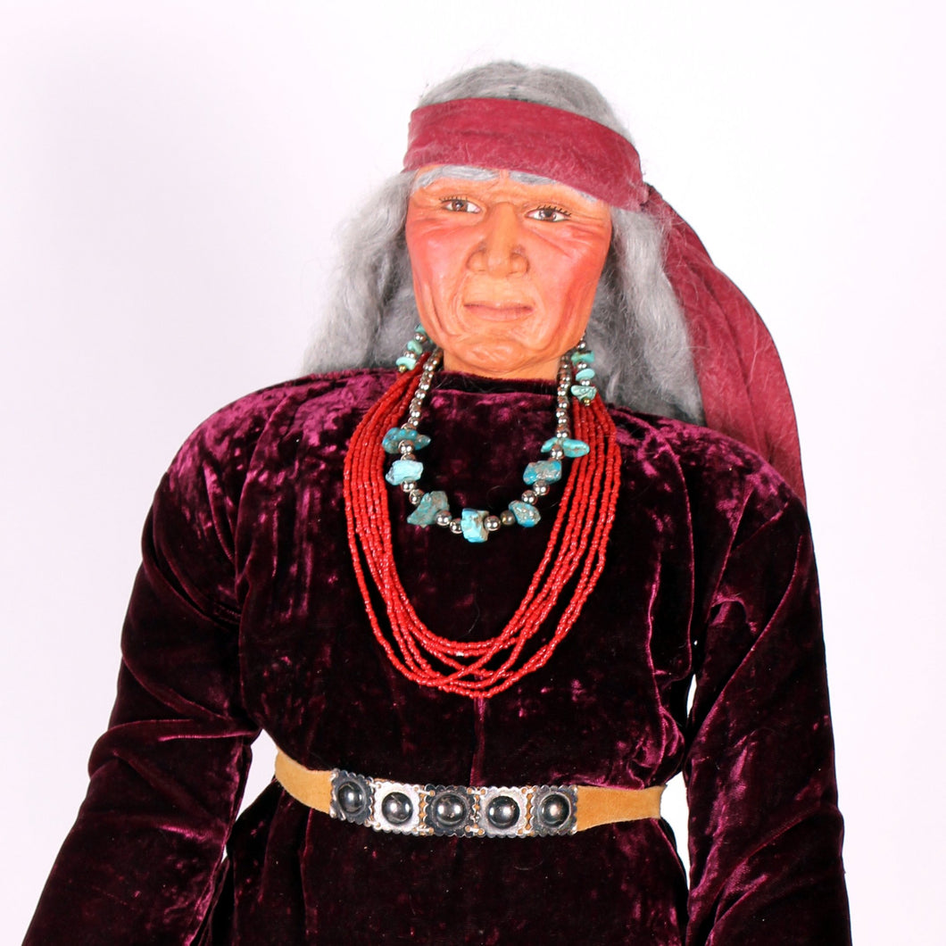 Native American Indian Dolls by Mohawk Artist, Cathy Crandall ACC103